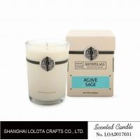 Buy cheap Southern Belle / Raspberry Fragrance Natural Scented Candle Chemical Free , Eliminating Odors product
