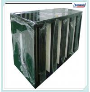 Buy cheap В-образность Ф5 фильтра печи воздуха большой емкости абсолютная - эффективность Ф9 from wholesalers
