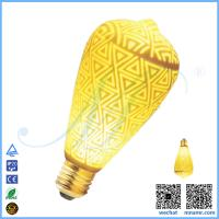 China Arabesque led lights ST64 LED Edison bulb wholesale