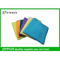 Buy cheap Different Size Microfiber Cleaning Cloth Disposable Cleaning Cloths Easy Wash product