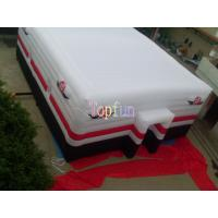 Buy cheap Lightest Square Inflatable Event Tent / 12m White Waterproof Fabric Inflatable Tent product