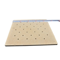 Buy cheap Cordierite Refractory High Temperature Ceramic Plates For shuttle kiln product