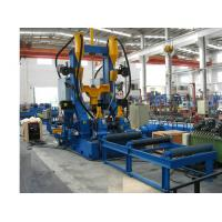 Buy cheap Fully Automatic H-beam Production Line With 6 - 25mm web thickness product