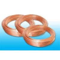 Buy cheap Plated Low Carbon Refrigeration Copper Tube , Bundy Tube 8 * 0.6 mm product
