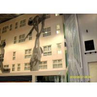 Buy cheap Multi - Functional High Partition Wall 17m High Strength Aluminium Frame product