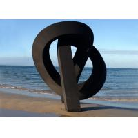 Buy cheap Beach Decoration Corten Steel Sculpture Rusted Metal Garden Sculptures from wholesalers