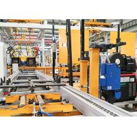 China Cement Pump Truck Robotic Arm Car Manufacturing / Robot Automatic Assembly Line on sale