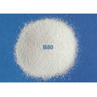 China Ceramic Blasting Media Zirconia Beads B40 / B60 For Metal Pipe Surface Cleaning on sale