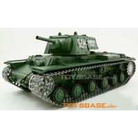 Buy cheap RC Toy Model Tank - Radio Control Tank Rtr 1:16 Russian Kv-1 Airsoft Bb Tank Smoke & Sound 3878-1 product