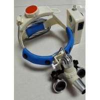 China Veterinary LED headlamp medical light KS-H3M 2.5x magnification glass for Veterinary operation on sale