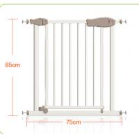 Buy cheap Double Protection Easy Close Adjustable Metal Safety Gate With Door product