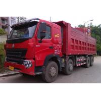Buy cheap Large Capacity 30T 8x4 12 Wheeler Front Lifting Tipper Truck For Transporting Sand product