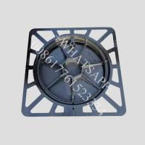 Buy cheap OEM ODM 600 x 600 x 100 D400 Class Cast Ductile Iron black block paving drain covers product