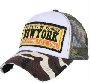 Mesh Style Embroidery Mesh Trucker Hats Summer Baseball Cap Custom Design 2D Logo