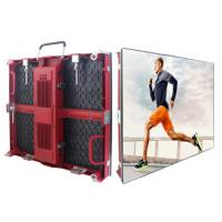 Buy cheap SMD2121 Red Rental LED Display P3.91 Indoor Movable Die Casting Panel product