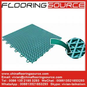 Buy cheap PP Interlock Tile Sports Flooring basketball court flooring table tennis court flooring product