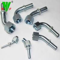Buy cheap Wide range of hydraulic pipe fittings types supply threaded elbow 45 product