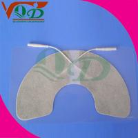 Buy cheap White laminated cloth Carbon Paste physiotherapy, TENS Electrode Pads 45 * 45mm product