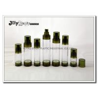 Buy cheap Bottle Diameter 33mm Airless Pump Bottles For Cosmetics WITH Capacity 15ml Bottle Height 92mm product
