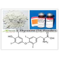 China Bulking Cycle Positive T4 / L-Thyroxine Legal Oral Steroids 51-48-9 Levothyroxine Sodium Powders wholesale