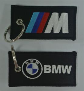 Courroies brodées par tissu de BMW Keychains