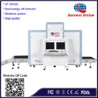 Buy cheap Strong Penetration Luggage X Ray Machine 1010*1003mm Tunnel Size CE Approval product