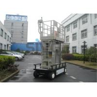 China Aluminium Mast Self Propelled  Aerial Lift 12m For Office Buildings wholesale