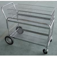 Buy cheap Workshop Steel Mesh Cage , Industrial Storage Welded Steel Wire Baskets product
