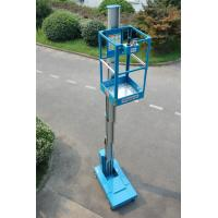 China Blue Self Propelled Aerial Lift Single Mast Self Propelled With 5 m Working Height wholesale
