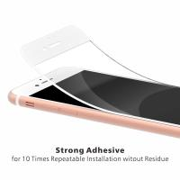 China Clear Color 3D Curved Glass Screen Protector , Tempered Glass Screen Protector Iphone 7 on sale