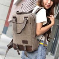 Buy cheap Vintage Unisex College Student Backpack 2 In 1 Use With A Lot Of Pockets  product