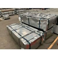 China 600~1250mm Or As Per Your Request 30-275g/m2 Galvanized Steel Corrugated Roof Panel on sale