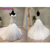Buy cheap Crystal Beading Mermaid Prom Dresses / Luxury Long Tail Mermaid Wedding Dress product