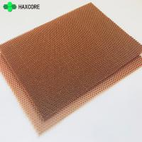 Buy cheap Ecofriendly Light Weight Aramid Fiber Nomex Honeycomb Core For Sale from wholesalers