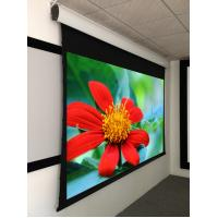 """Buy cheap 135"""" Acoustically Transaprent  Tab Tensioned Motorized Screen ,  4K  projection screen product"""