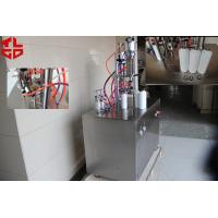 Buy cheap R410A Refrigerant Freon Semi Automatic Aerosol Filling Machine Made Of Stainless Steel product