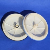 Buy cheap 0.08- 0.1mm Pore Microporous Membrane Air Diffuser Disc For Water Treatment product