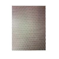 Buy cheap Thinkness 0.4mm Galvanized Lath Mesh / Stainless Steel Expanded Metal Lath product