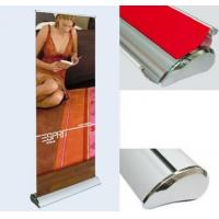 China Roll up banner stand or roller banner on sale