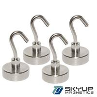 Buy cheap Strong Neodymium Magnet Magnetic Hook Assembly used in home from wholesalers