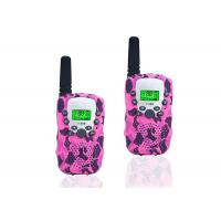 Buy cheap LCD Display Wireless Two Way Radio , Camouflage Pink Two Way Radios product