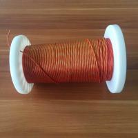 Buy cheap Colored Served Litz Wire 5500v High Voltage Pet Insulation With 0.113mm Od product