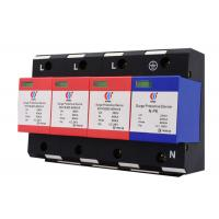 Buy cheap NPE Type 4 Poles Power Protection Devices 3 Phase 80ka Transient Surge Suppressors product
