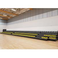 Buy cheap Nose Mounted Retractable Bleacher Seating Telescopic Grandstands For Sport School product
