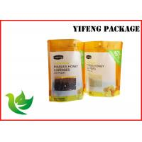 Buy cheap Heat Sealing Stand Up Pouch Plastic Packaging Bags for Food with Zipper and from wholesalers