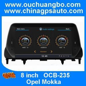 China Ouchuangbo S100 platform DVD stereo Radio Opel Mokka Car GPS Navigation A8 Chipset 3 zone on sale