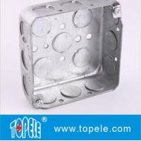 Buy cheap TOPELE 52151 / 52161 / 52171 Galvanized Steel Square Electrical Outlet Box product