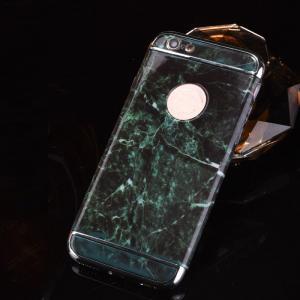 Buy cheap La PC dura 3 en 1 mármol de la frontera de la galjanoplastia alinea la caja del teléfono celular de la contraportada para el iPhone 7 7 más 6 6s más product