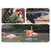 Buy cheap Lightweight Parrot Aviary Mesh Corrosion Resistant Inox Wire Mesh Woven / Ferrule Type product