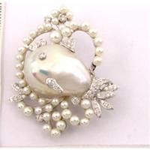 China broche de perle wholesale